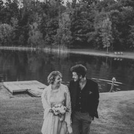 Surprise Backyard Wedding in Thornbury, Ontario. By Wedding Photographer, Sarah Tacoma