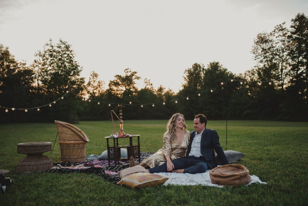 boho wedding in Owen sound, north of toronto